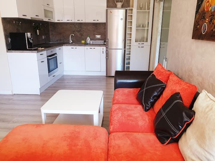 Апартамент Диана, 1-ва линия море :)