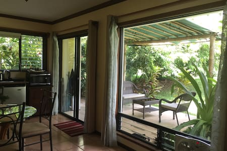 Relaxing 1 bedroom apartment on golf course