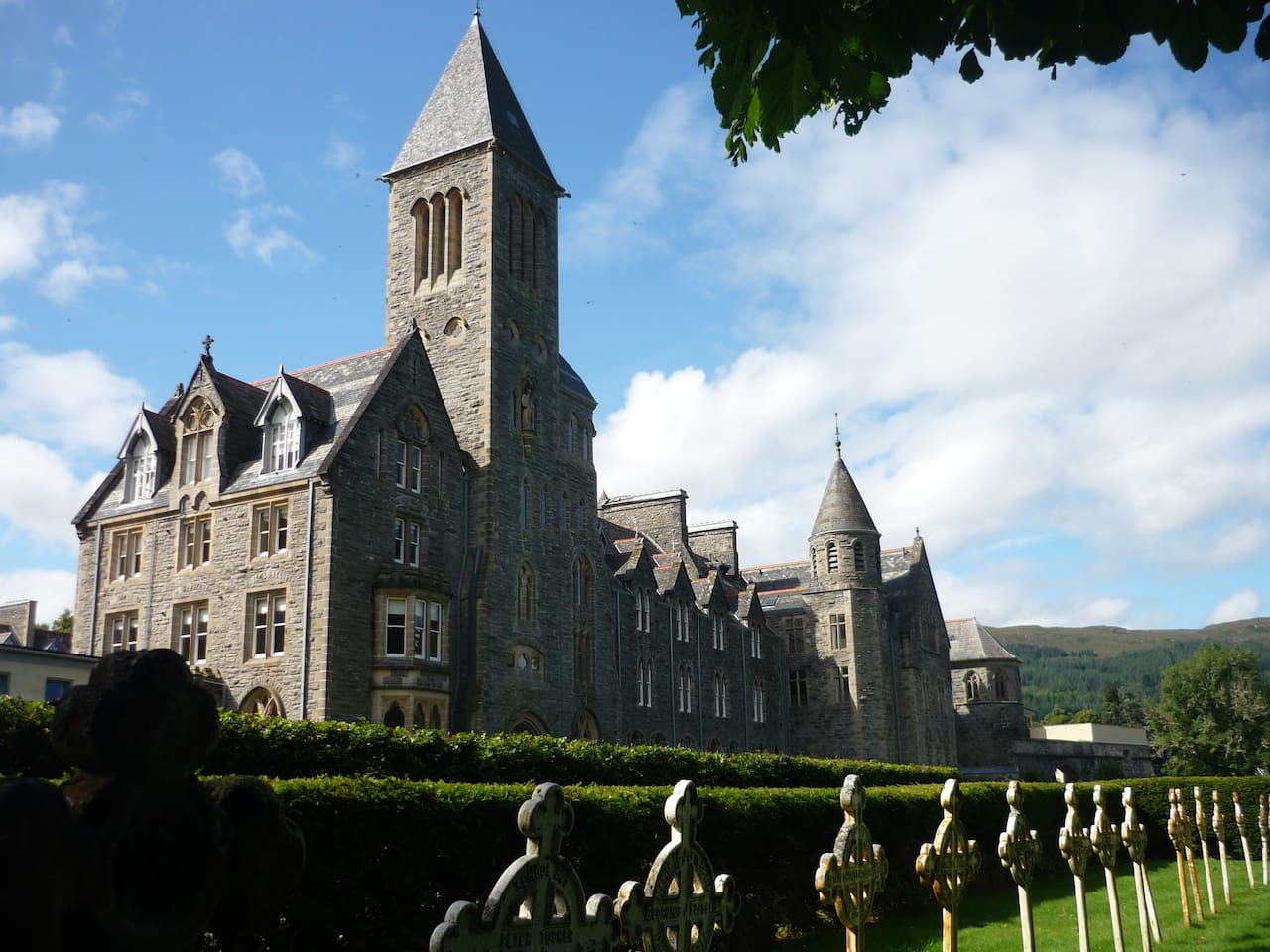 St Benedict's Abbey now called the Highland Club