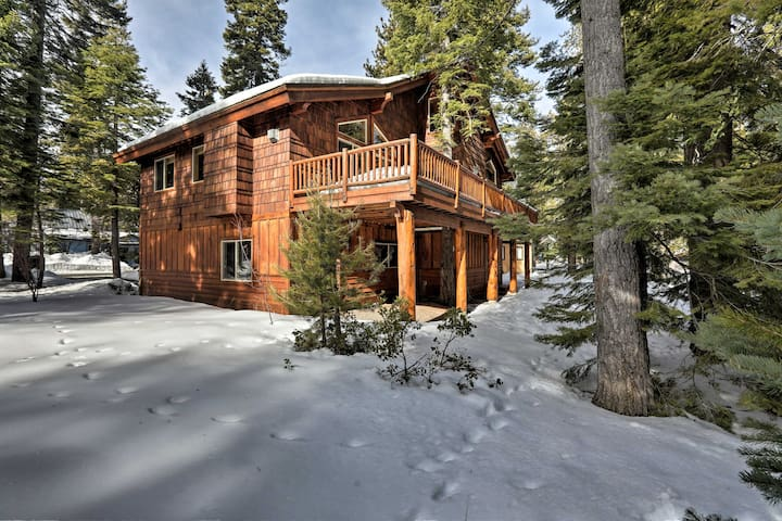 NEW! Tahoma Home w/ Deck - Minutes to Lake Tahoe!