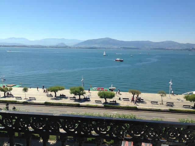 Coqueto apartamento con vistas al mar - Santander - Apartemen