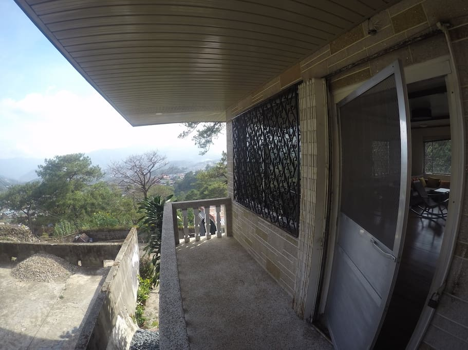 Terrace View at the second floor