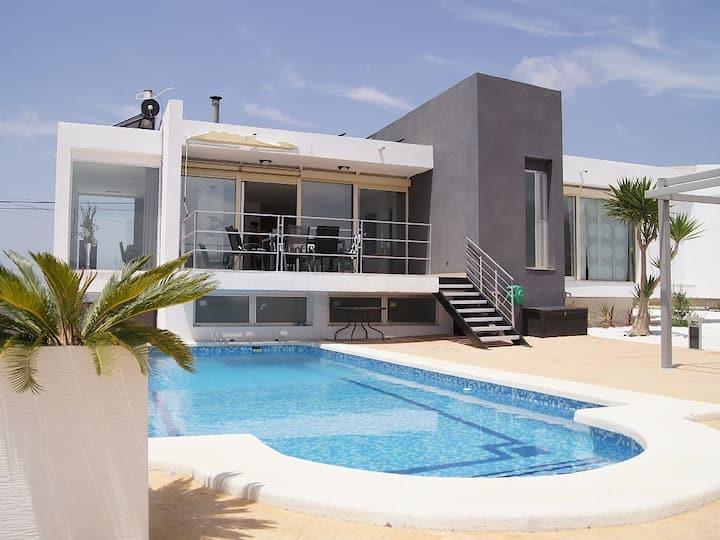 Superbe villa moderne Alicante,  vue panoramique