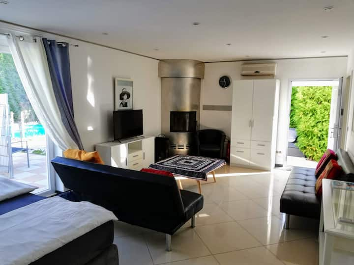 Luxus Suite exclusiv direkt am Pool