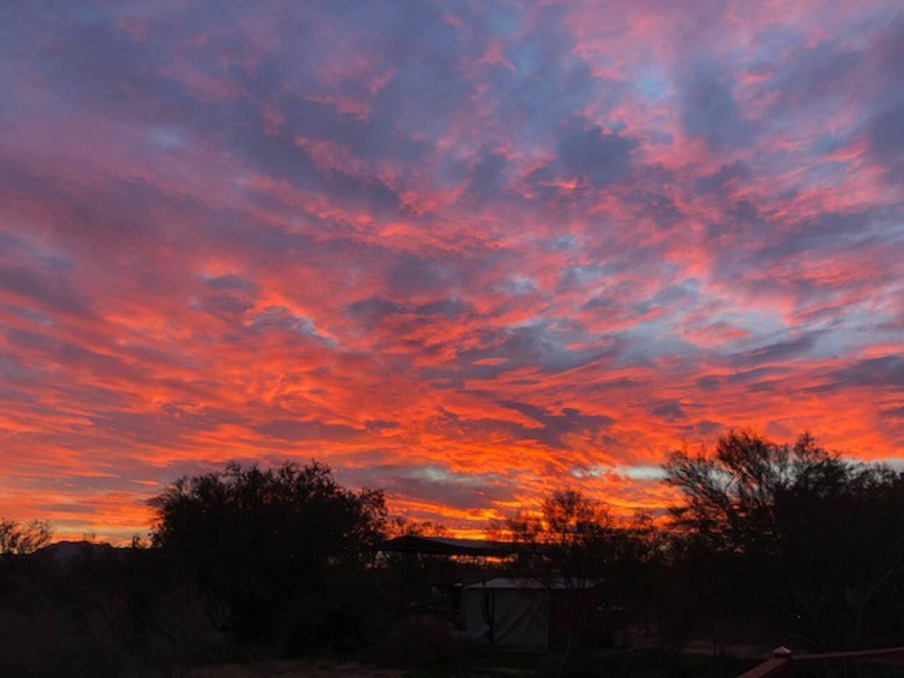 Amazing Fall Sunset