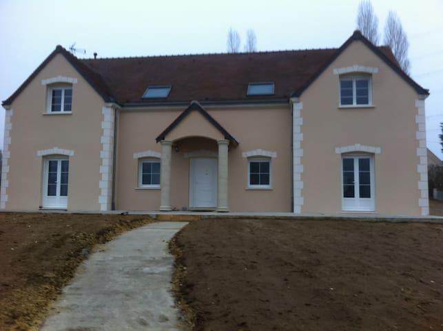 jolie villa au coeur des chateaux de la loire - Azay-le-Rideau - วิลล่า