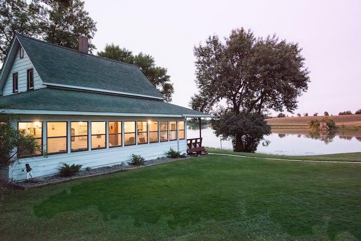 Historic Century Old Farmhouse