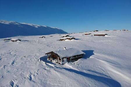 Familiehytte på Småroi, Hardangervidda, til leie