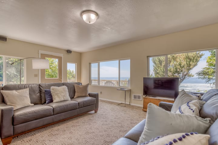 Oceanfront Single-Level Has Spectacular Views of Sea and Sand from Every Room!