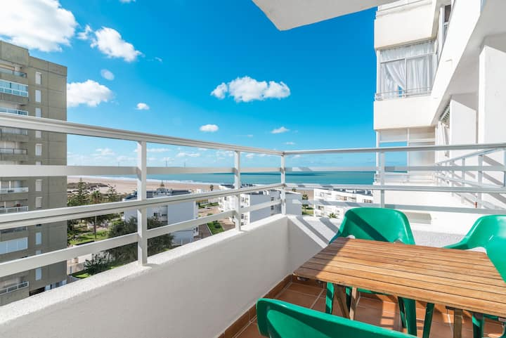 With sea view - Apartment Valdelagrana Puerto de Santa María