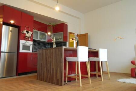Bright, cozy art studio in a quiet neighborhood! - Praga - Pis