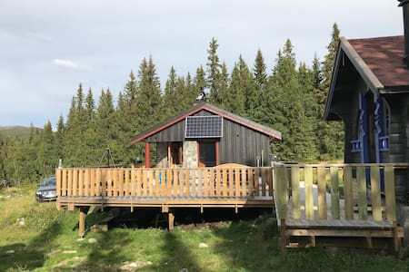 Spacious cabin in beautiful sourroundings