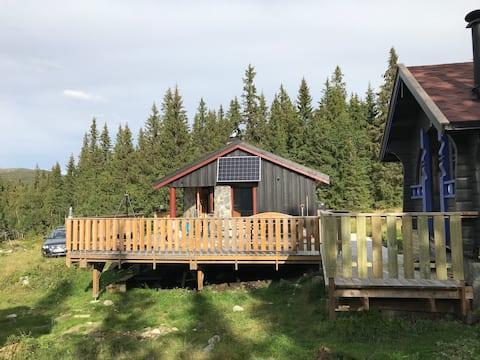 Familienfreundliche Hütt mit Sauna