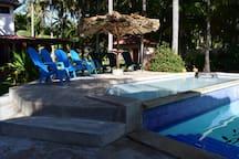 Views of the kiddie pool.