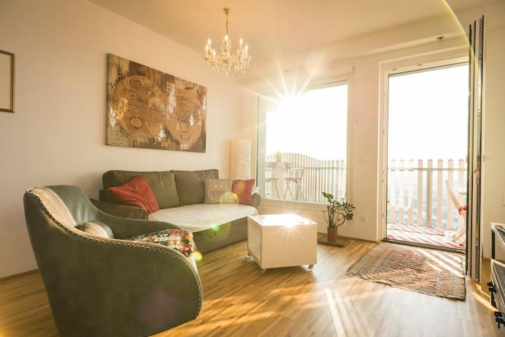 Sky View Apartment Vienna - Vídeň - Byt