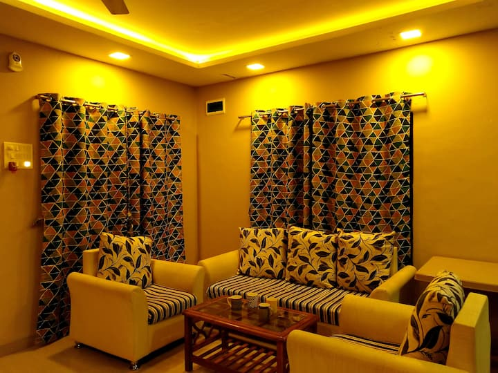 DADAJI VILLA :2BHK house with verandah and garden.