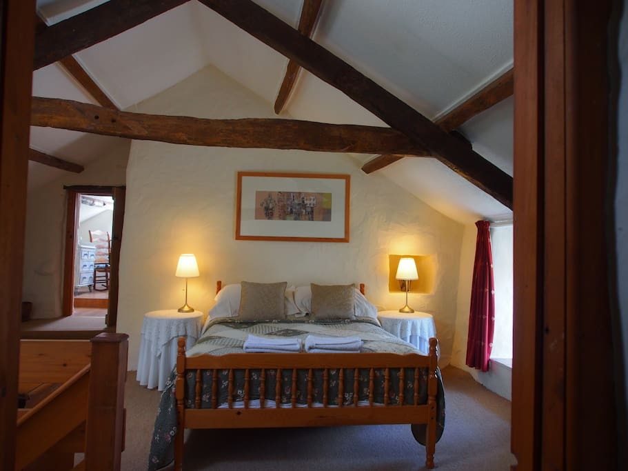 Steeped in history and beamed throughout - upstairs double bedroom