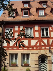 Cosy and charming room in 400 year old house - Fürth