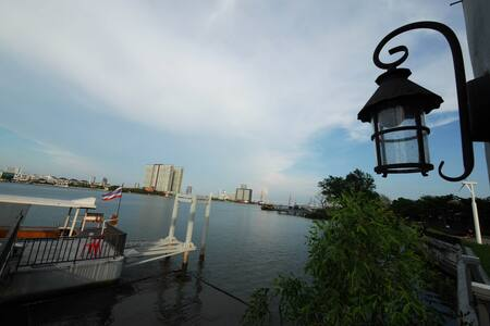 Relax with Chao Praya River Peaceful &Convenience - Bangkok - Wohnung