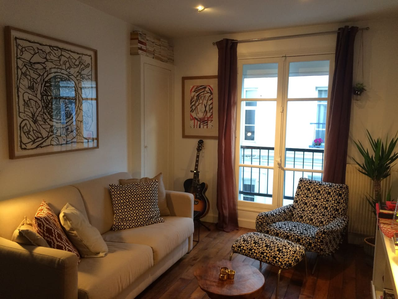 Cosy flat near Eiffel Tower and Arc de Triomphe