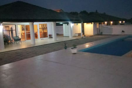 Villa with 180 degree sea view and pool