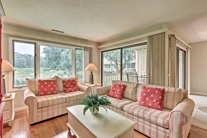 Hilton Head Resort Townhome w/ Pool Access!