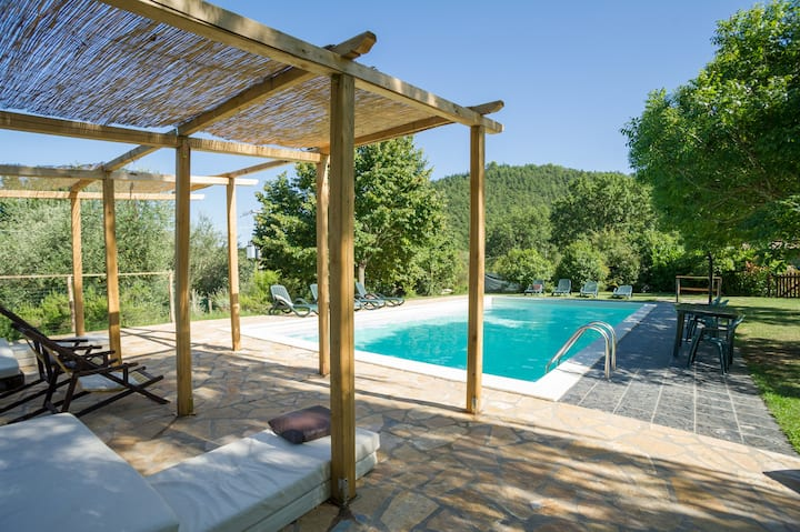Grande Country Home con Piscina tra Roma e Firenze