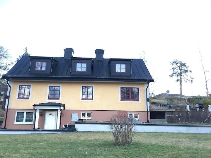 Huge villa close to Stockholm city