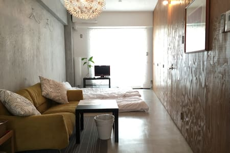 Minimal design flat is available! - 大阪市