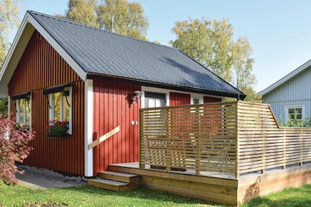 Holiday cottage with 1 bedroom on 50m² in Färjestaden
