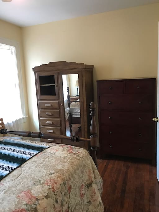 BR #1 armoire and dresser