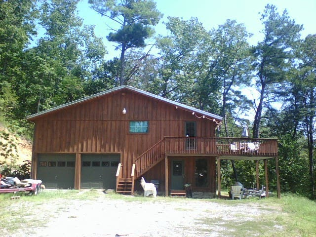 Smith Lake Cabin - Crane Hill - Srub
