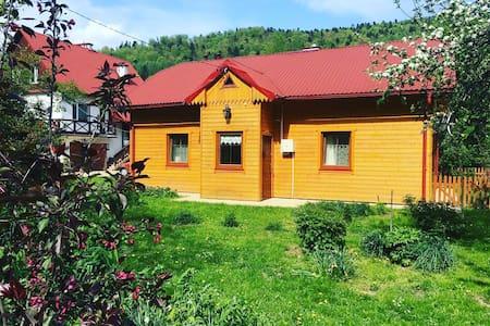 Przytulny domek w  Bieszczadach
