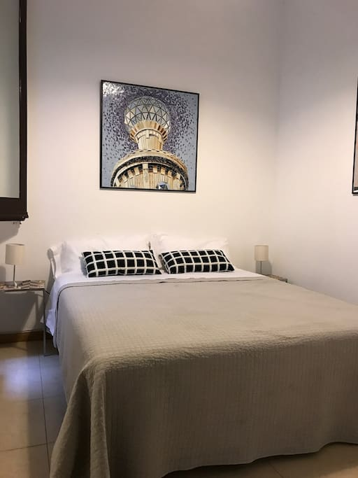 Your bedroom with large double bed