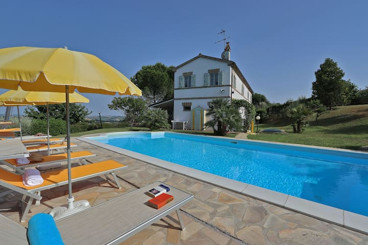VILLA LA CAPUCCINA - Adriatic coast, Le Marche