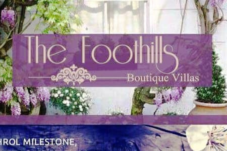 The Foothills Villas -  A nature's home in Aravali