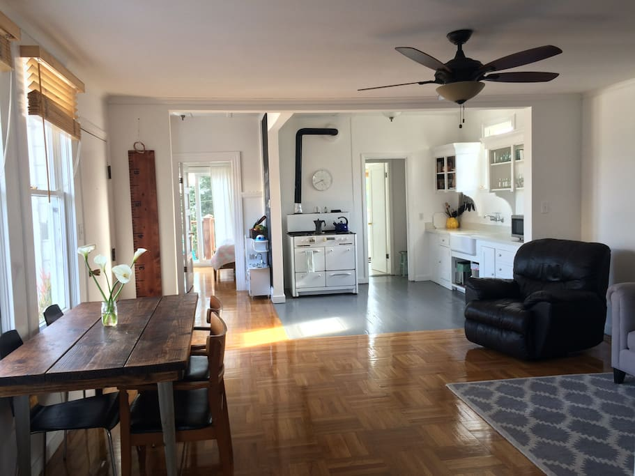 Shared living/dining area
