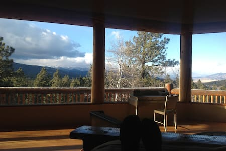 Gorgeous views at The Byrd's Nest - Angel Fire - Casa