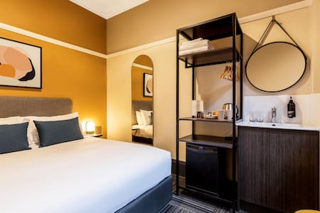 With a cozy Double and Single Bed, the Triple Room is perfect for family and friends