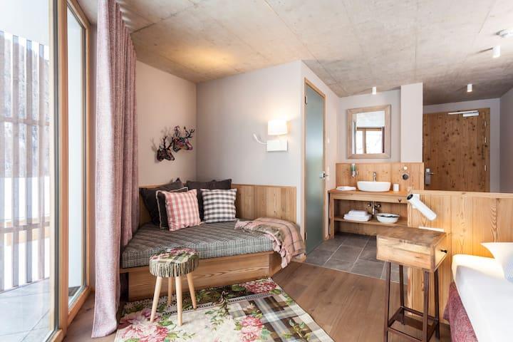 Doppelzimmer im 3 Sterne Hotel - Curon Venosta - Bed & Breakfast