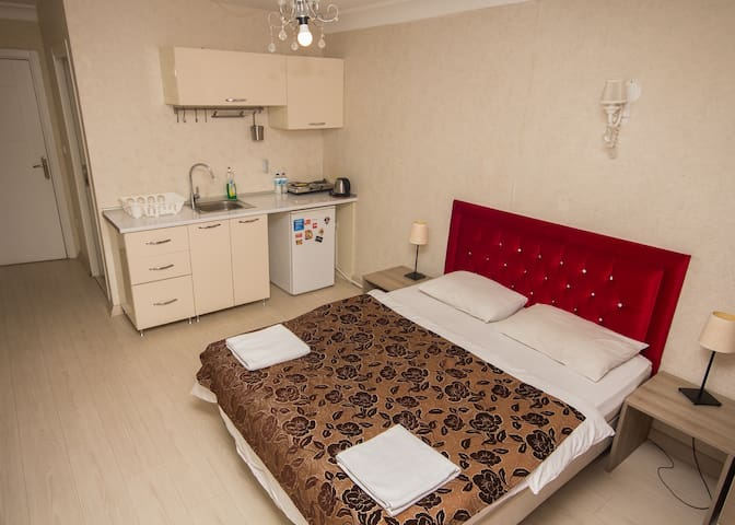 Galata Studio w kitchenette in the city center