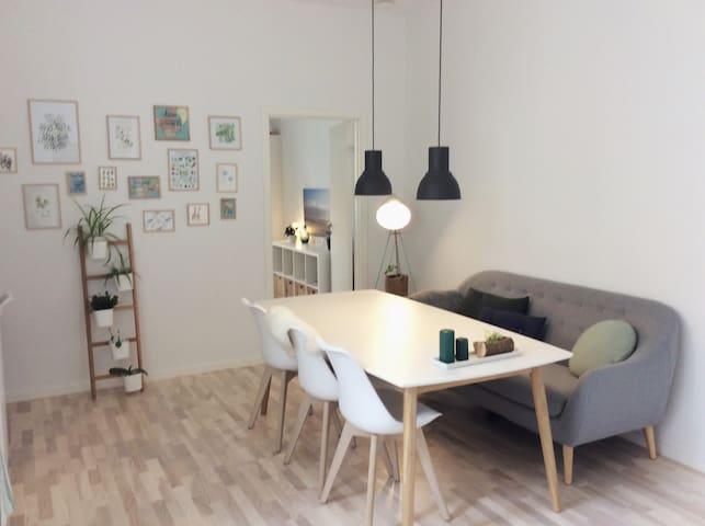 Nyrenoveret lejlighed i hjertet af Aarhus centrum