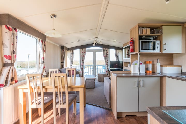 Prestige 8 Berth Caravan at Combe Haven, Hastings