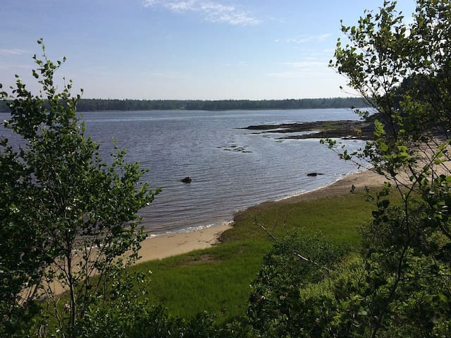 Share Our Private Peninsula & Beach on the coast! - Milbridge - Apartment