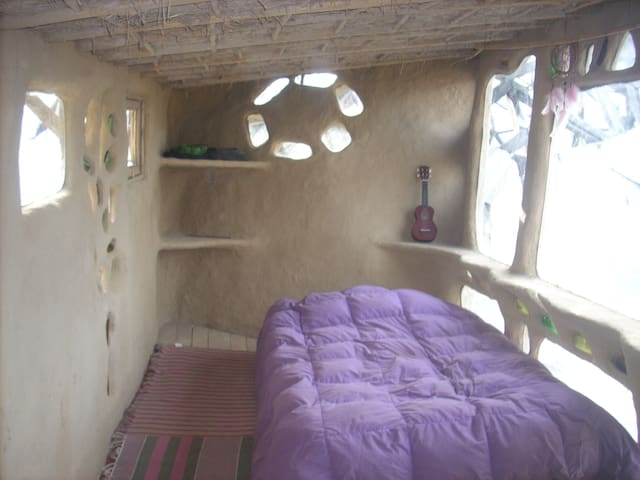 Room in Ecológical Center. A natural house