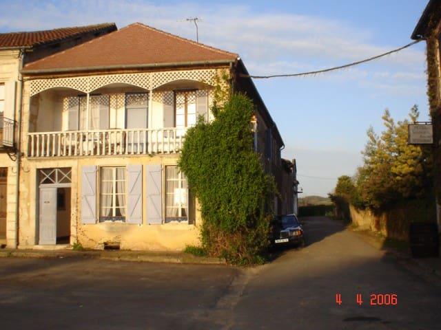 Chambre dans une maison romantique - Lannepax - Guesthouse