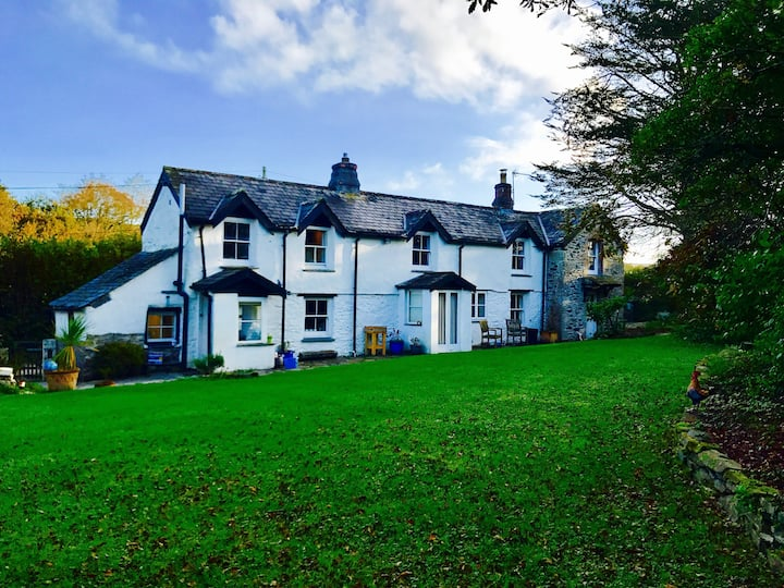 Lana Vale: Dog Friendly Cottage St Kew N. Cornwall