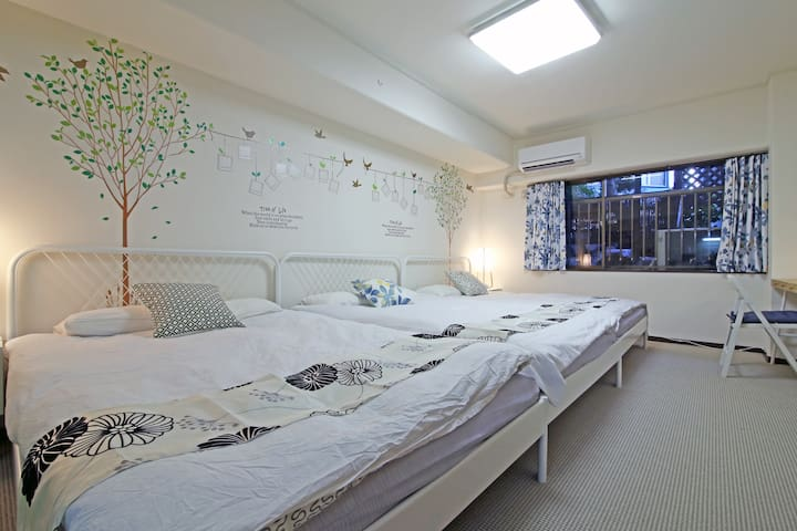 B3 Tokyo Tower & Spacious Flat for 6ppl / Roppongi