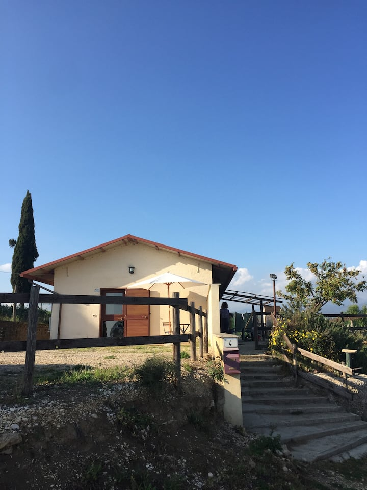 Casale del Farfa ( studio apartment with garden )