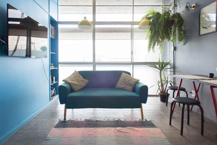 Copan / 22th floor / Colorfull apartment